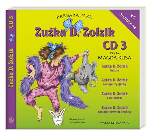 okładka Zuźka D. Zołzik. Audiobook, Książka | Park Barbara