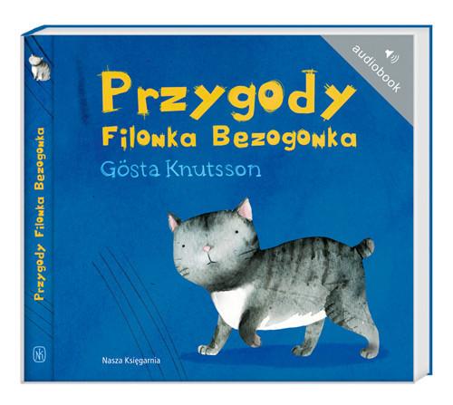 okładka Przygody Filonka Bezogonka. Audiobook, Książka | Gosta Knutsson
