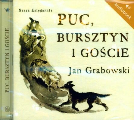 okładka Puc Bursztyn i gości. Audiobook, Książka | Grabowski Jan