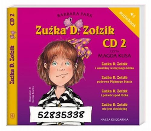 okładka Zuźka D. Zołzik CD 2, Książka | Park Barbara