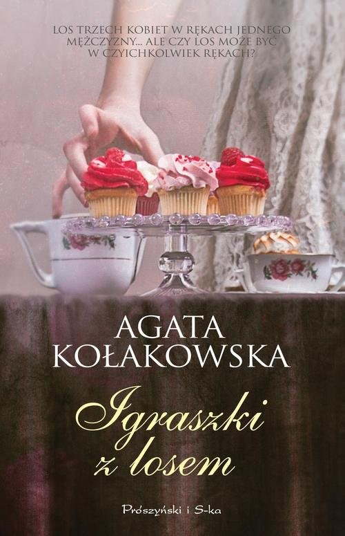 okładka Igraszki z losem, Książka | Agata Kołakowska