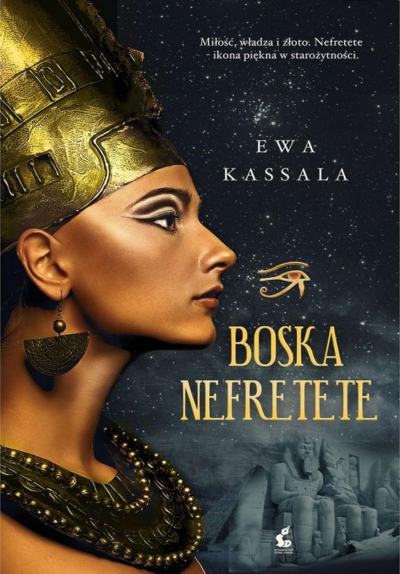 okładka Boska Nefretete, Książka | Kassala Ewa