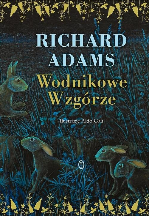 okładka Wodnikowe Wzgórze, Książka | Richard Adams