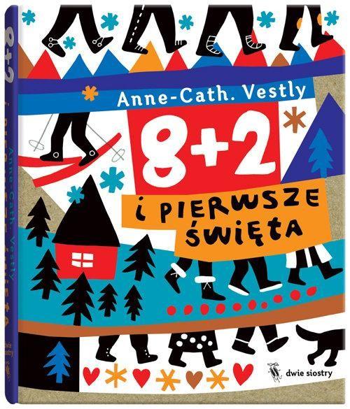 okładka 8 + 2 i pierwsze święta, Książka | Vestly Anne-Cath