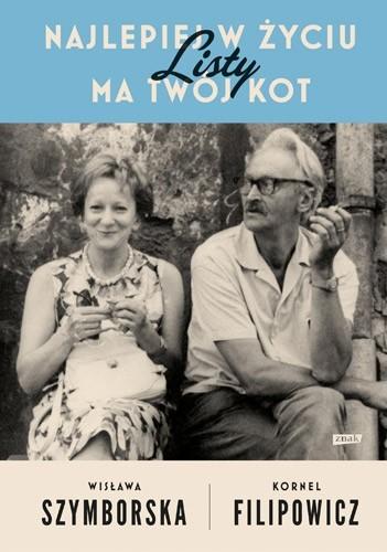 okładka Najlepiej w życiu ma twój kot. Listy, Książka | Wisława Szymborska