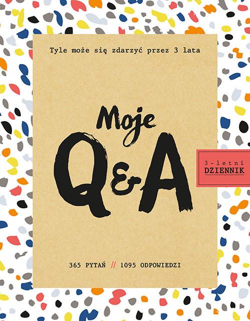 okładka Moje Q&A. 3-letni dziennik, Książka | Franco Betsy