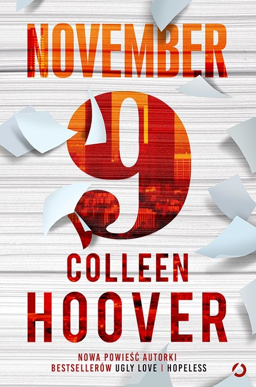 okładka November 9, Książka | Colleen Hoover