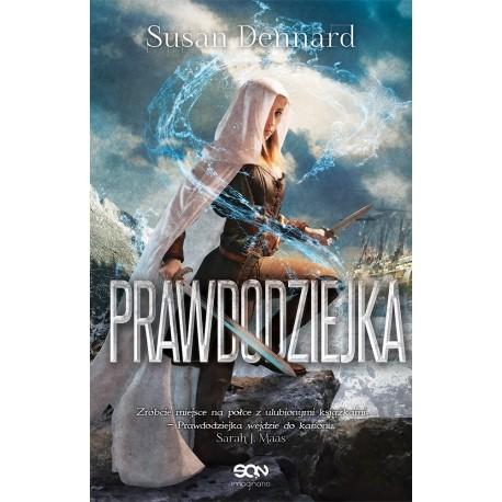okładka Prawdodziejka, Książka | Dennard Susan