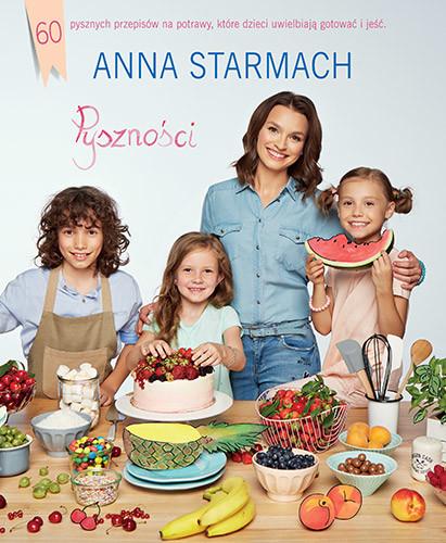 okładka Pyszności. Kulinarne pomysły dla małych szefów kuchni, Książka | Starmach Anna