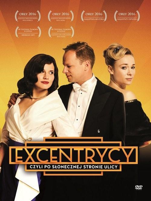 okładka Excentrycy czyli po słonecznej stronie ulicy. DVD, Książka | Majewski Janusz, Kowalewski Włodzimierz