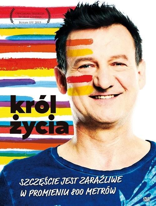 okładka Król życia. DVD, Książka   Jerzy Zieliński