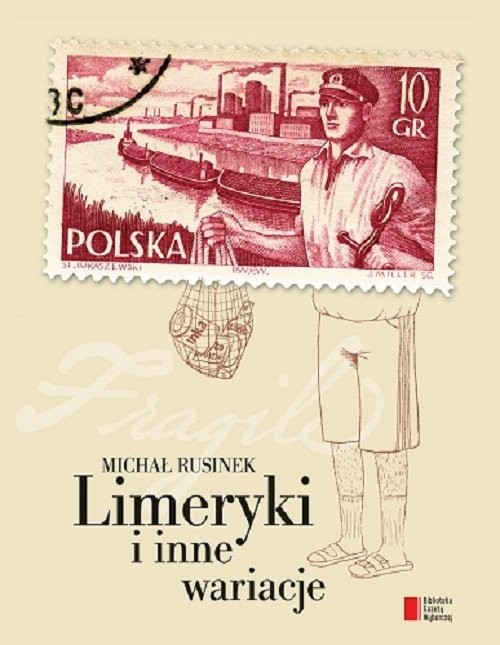 okładka Limeryki i inne wariacje, Książka | Rusinek Michał