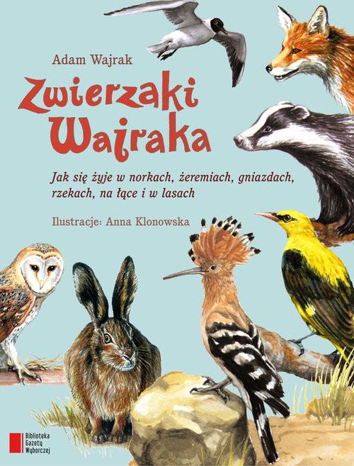 okładka Zwierzaki Wajraka, Książka | Wajrak Adam