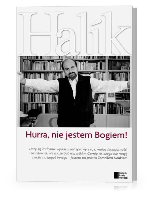 okładka Hurra, nie jestem Bogiem!, Książka | Tomas Halik