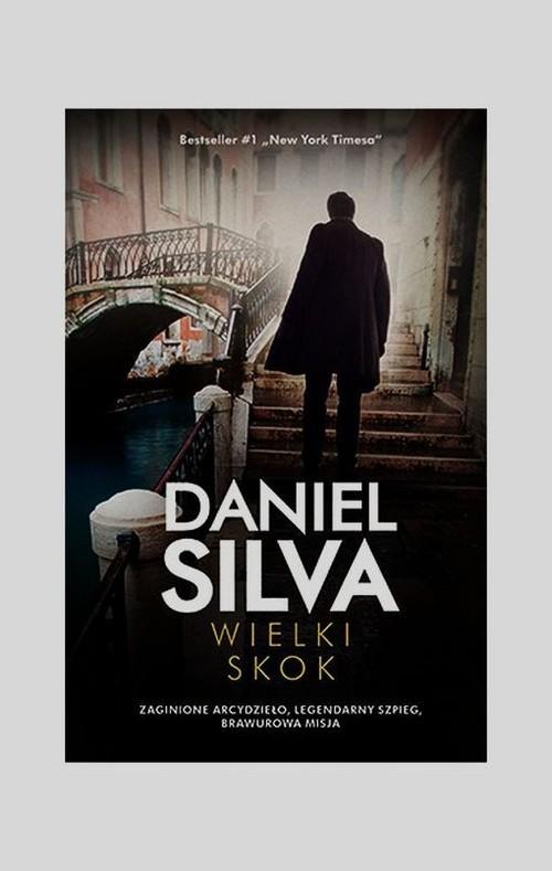 okładka Wielki skok, Książka | Daniel Silva