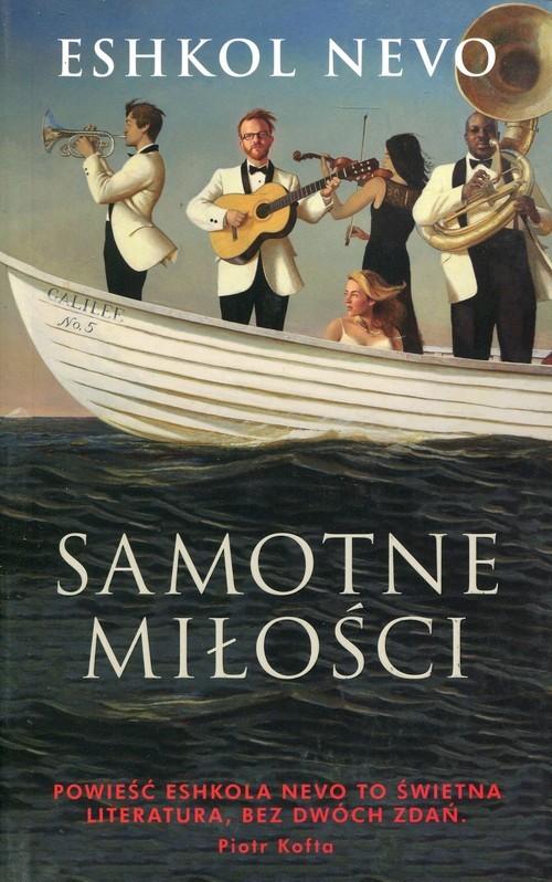 okładka Samotne miłości, Książka | Nevo Eshkol