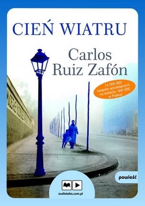 okładka Cień wiatru. Audiobookksiążka |  | Carlos Ruiz Zafón