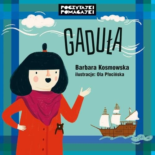 okładka Gaduła, Książka | Kosmowska Barbara