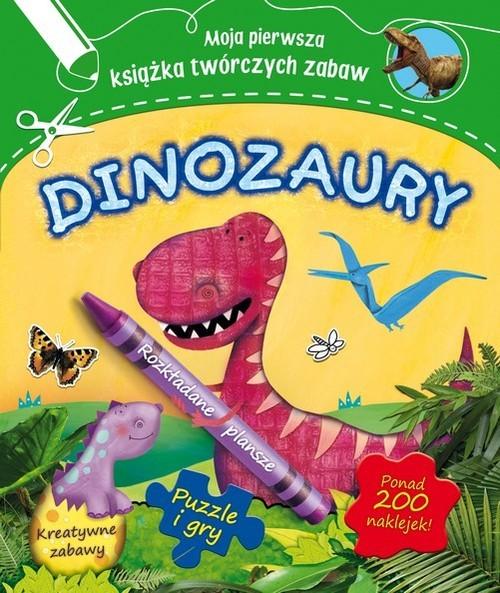 okładka Dinozaury, Książka | Worms Penny
