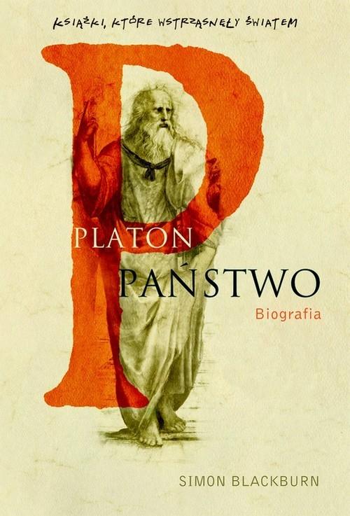okładka Platon. Państwo biografia, Książka   Blackburn Simon