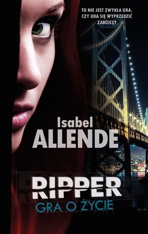 okładka Ripper. Gra o życie, Książka | Isabel Allende