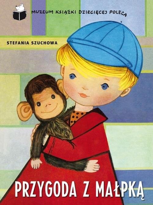 okładka Przygoda z małpką, Książka | Szuchowa Stefania