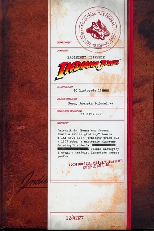 okładka Zaginiony dziennik Indiany Jonesa, Książka | zbiorowa praca