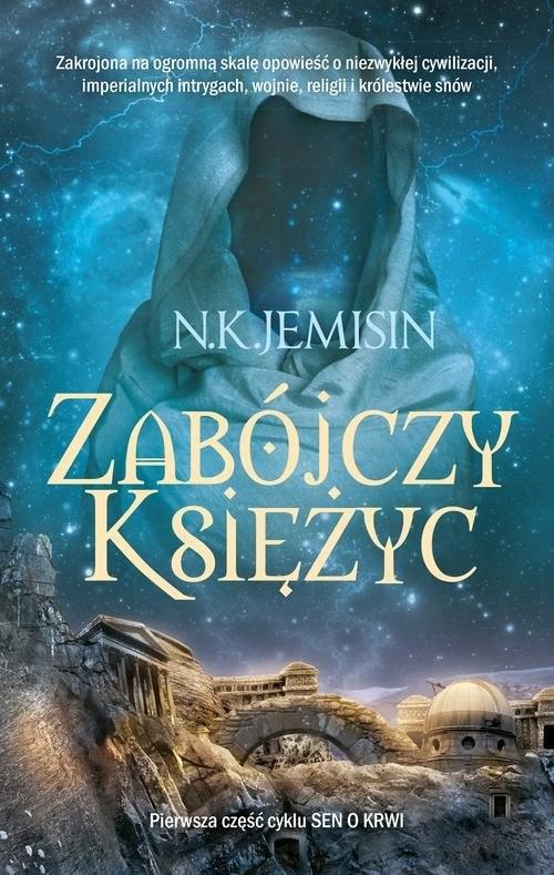 okładka Zabójczy księżycksiążka      Jemisin N.K.