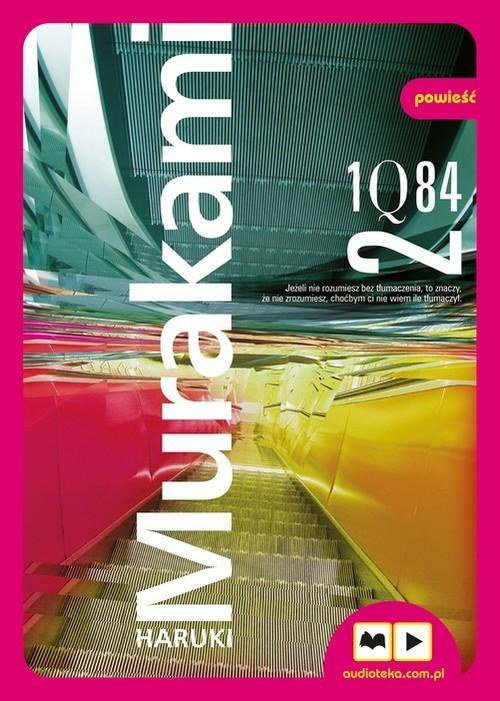 okładka 1Q84 Tom 2książka |  | Murakami Haruki