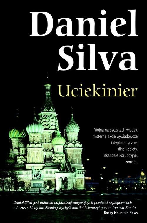 okładka Uciekinier, Książka | Daniel Silva