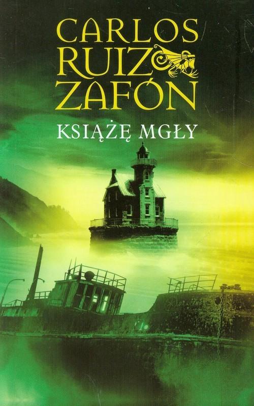 okładka Książę mgły, Książka | Carlos Ruiz Zafon