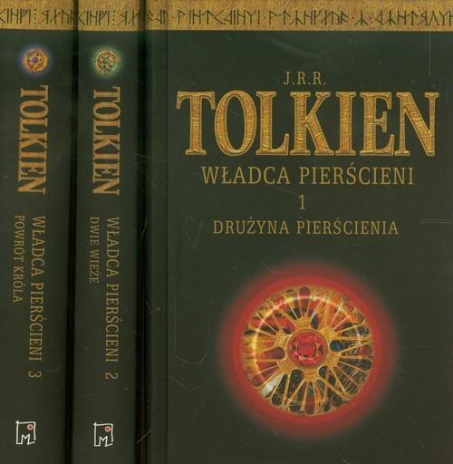 okładka Władca Pierścieni Tom 1-3, Książka | Tolkien J.J.R