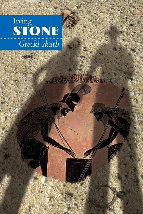 okładka Grecki skarb, Książka | Irving Stone