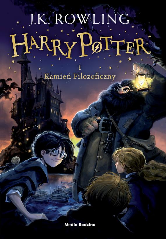 okładka Harry Potter 1. Kamień Filozoficzny TW w. 2016, Książka | K. Rowling Joanne