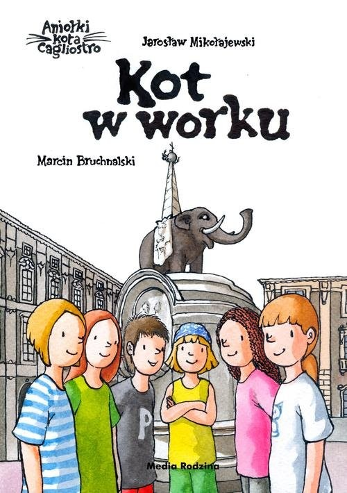 okładka Kot w worku, Książka | Jarosław Mikołajewski