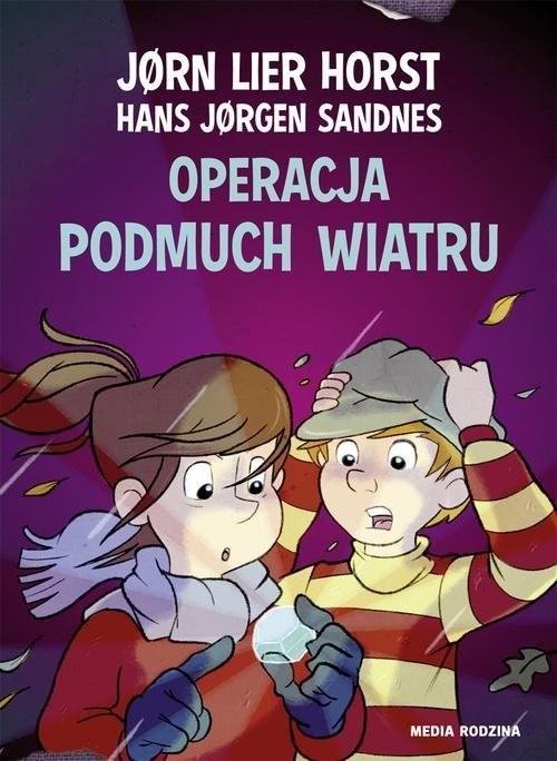 okładka Operacja Podmuch Wiatru, Książka | Jorn Lier  Horst