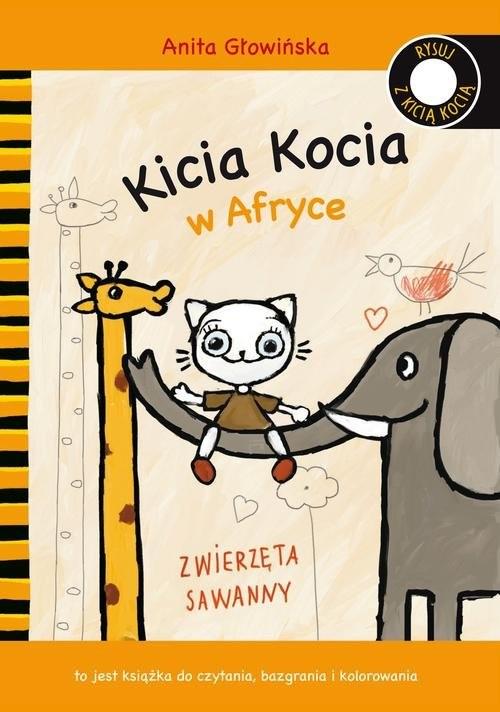 okładka Kicia Kocia w Afryce, Książka | Głowińska Anita