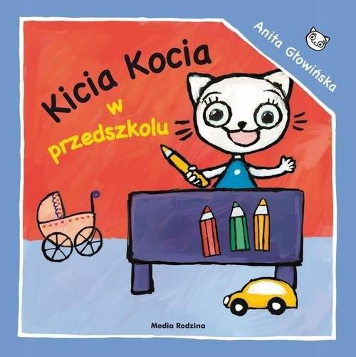 okładka Kicia Kocia w przedszkolu, Książka | Anita Głowińska