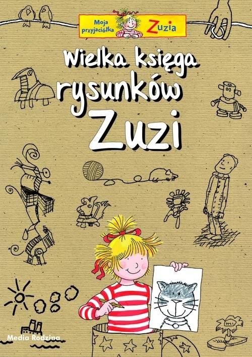 okładka Wielka księga rysunków Zuzi, Książka | Ulrich Velte
