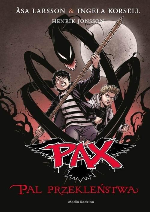 okładka PAX Pal przekleństwa, Książka | Asa Larsson, Inga Korsell