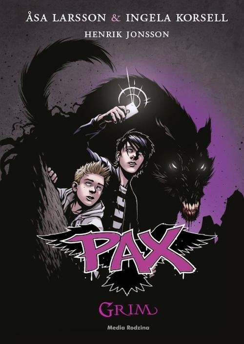 okładka PAX Grim, Książka | Asa Larsson, Inga Korsell