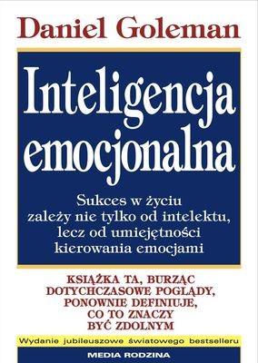 okładka Inteligencja emocjonalna, Książka | Daniel Goleman