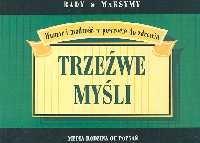 okładka Trzeźwe myśli, Książka | B. Ron