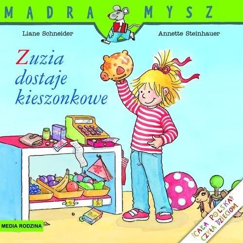okładka Zuzia dostaje kieszonkowe, Książka | Schneider Liane