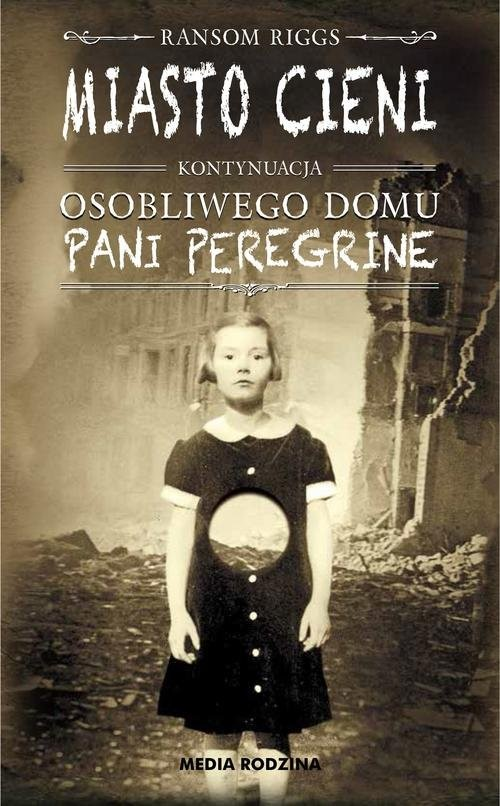 okładka Miasto cieni, Książka | Ransom Riggs