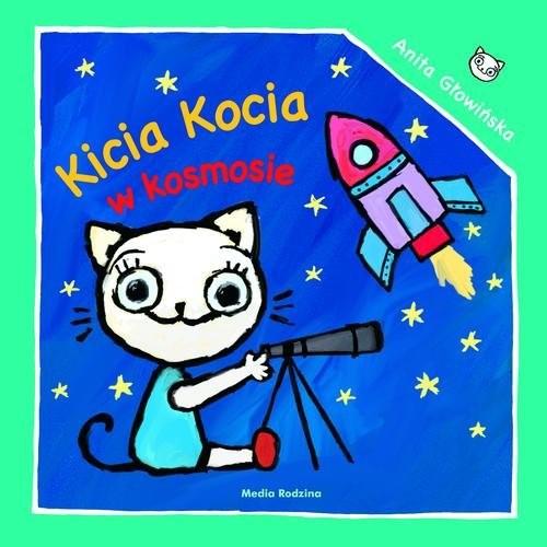 okładka Kicia Kocia w kosmosie, Książka | Anita Głowińska