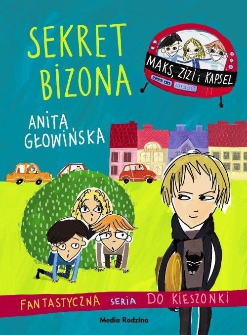 okładka Sekret Bizona, Książka   Anita Głowińska