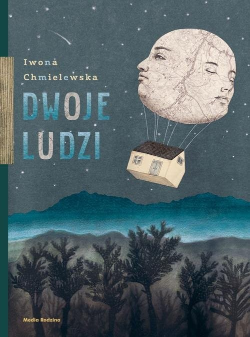 okładka Dwoje ludzi, Książka | Chmielewska Iwona