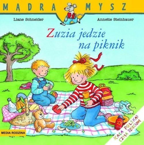okładka Zuzia jedzie na piknik, Książka | Schneider Liane