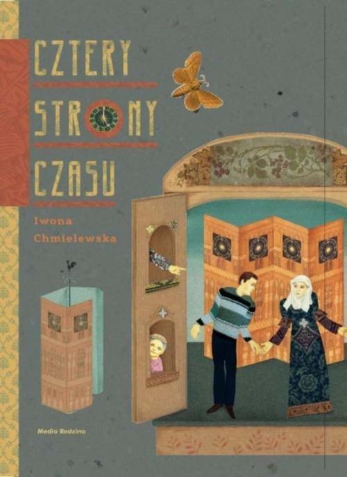 okładka Cztery strony czasu, Książka | Chmielewska Iwona